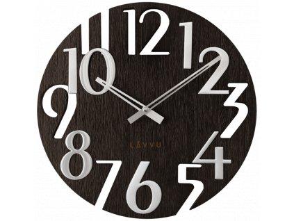 58317 3 cerne drevene hodiny lavvu style black wood