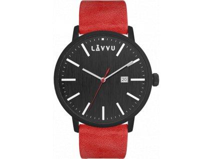 58422 1 cerveno cerne panske hodinky lavvu copenhagen heat