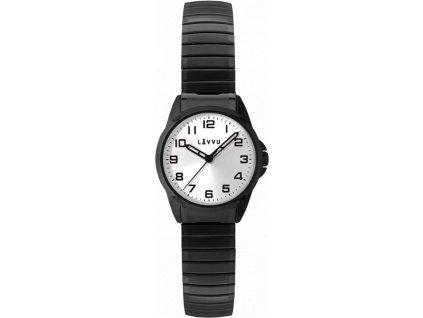 58455 2 damske pruzne hodinky lavvu stockholm small black