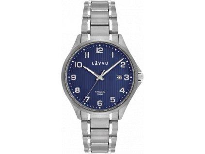 58557 2 extremne lehke titanove hodinky lavvu titanium lillehammer blue