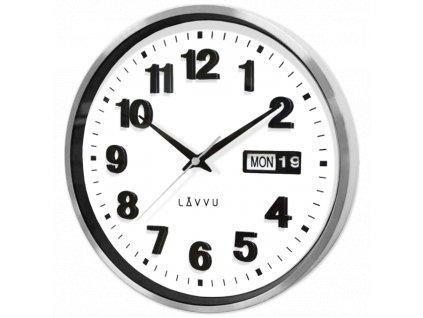 58632 3 kovove hodiny s ukazatelem data lavvu date metal