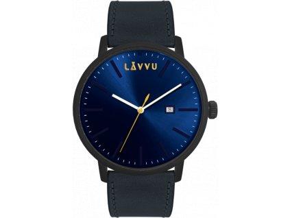 58716 1 modre panske hodinky lavvu copenhagen polo blue