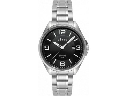 58803 2 panske hodinky se safirovym sklem lavvu herning black