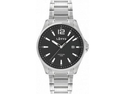 58821 1 panske hodinky se safirovym sklem lavvu nordkapp black