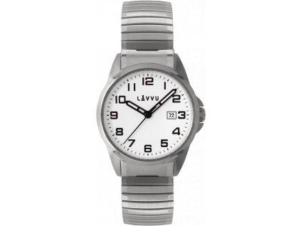 58854 2 panske pruzne hodinky lavvu stockholm big white