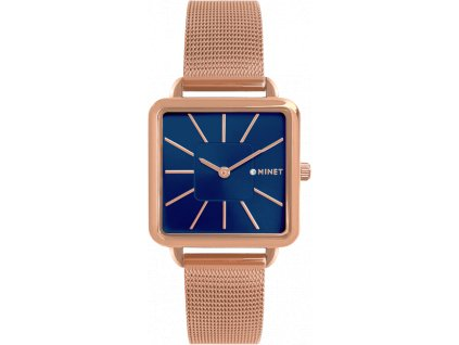 58887 2 rose gold damske hodinky minet oxford blue rose