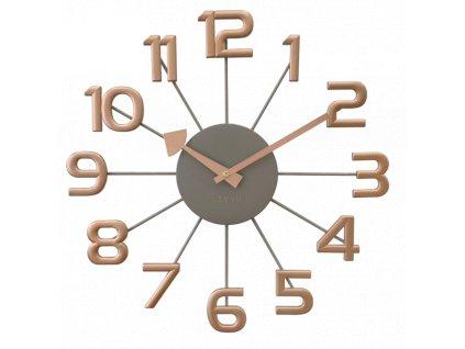 59454 1 sedo ruzove moderni hodiny lavvu design numerals
