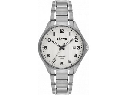 59469 1 titanove hodinky se safirovym sklem lavvu titanium lillehammer silver