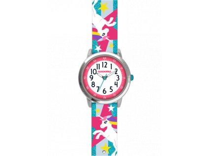 59532 1 tyrkysove trpytive divci hodinky s jednorozcem clockodile unicorns