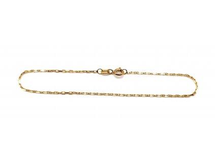 Dámský zlatý náramek ve stylu Marina Gucci