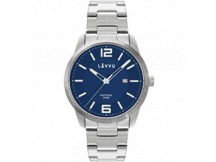 10053 20 atm panske hodinky se safirovym sklem lavvu dykker blue