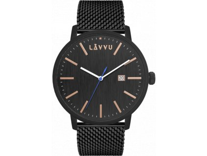 10800 cerne panske hodinky lavvu copenhagen mesh