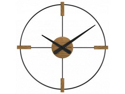 10182 drevene cerne hodiny vlaha studio vyrobene v cechach