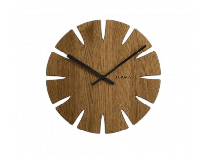 2223 dubove hodiny vlaha vyrobene v cechach s cernymi ruckami