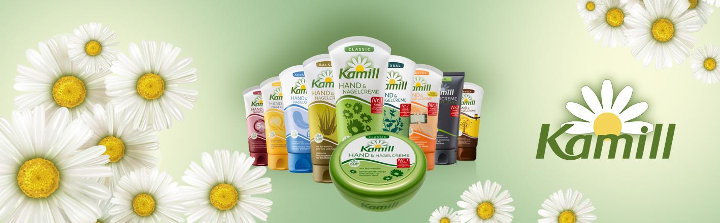 Vegan kosmetika Kamill