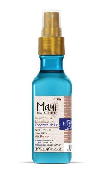 MAUI vyživující olej pro suché vlasy s kokosovým mlékem