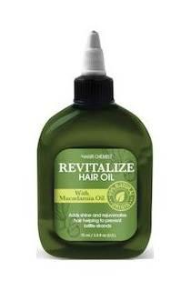 HC REVITALIZE přírodní olej na vlasy - makadamový olej