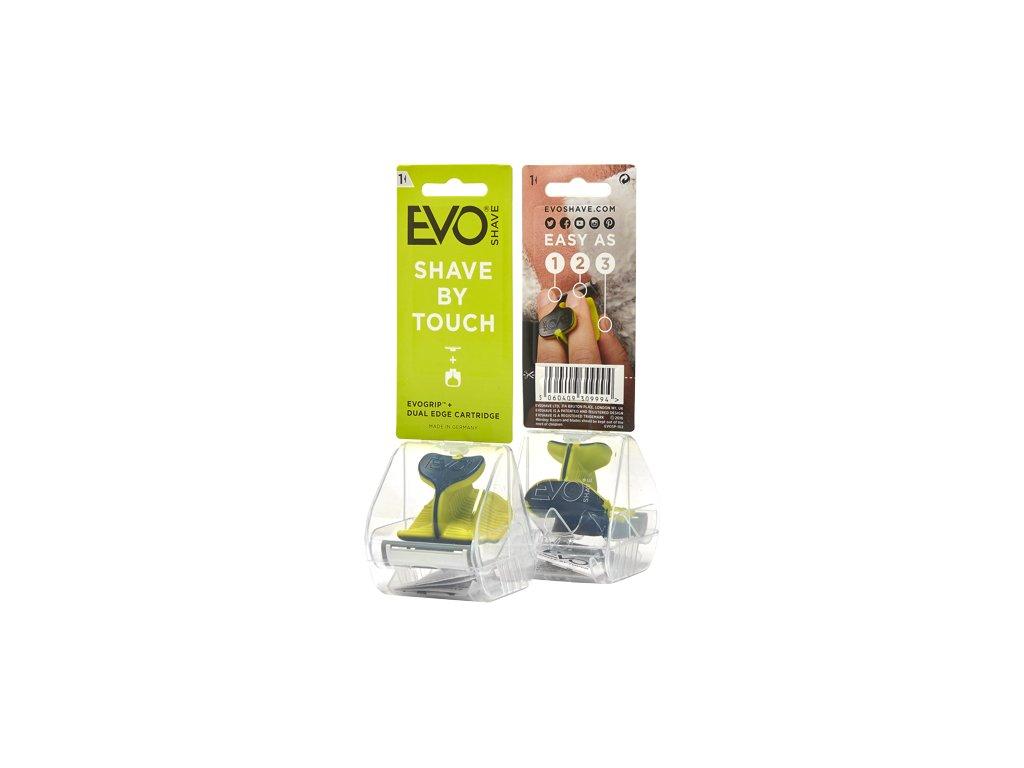 EvoShave - holící systém Sports Green