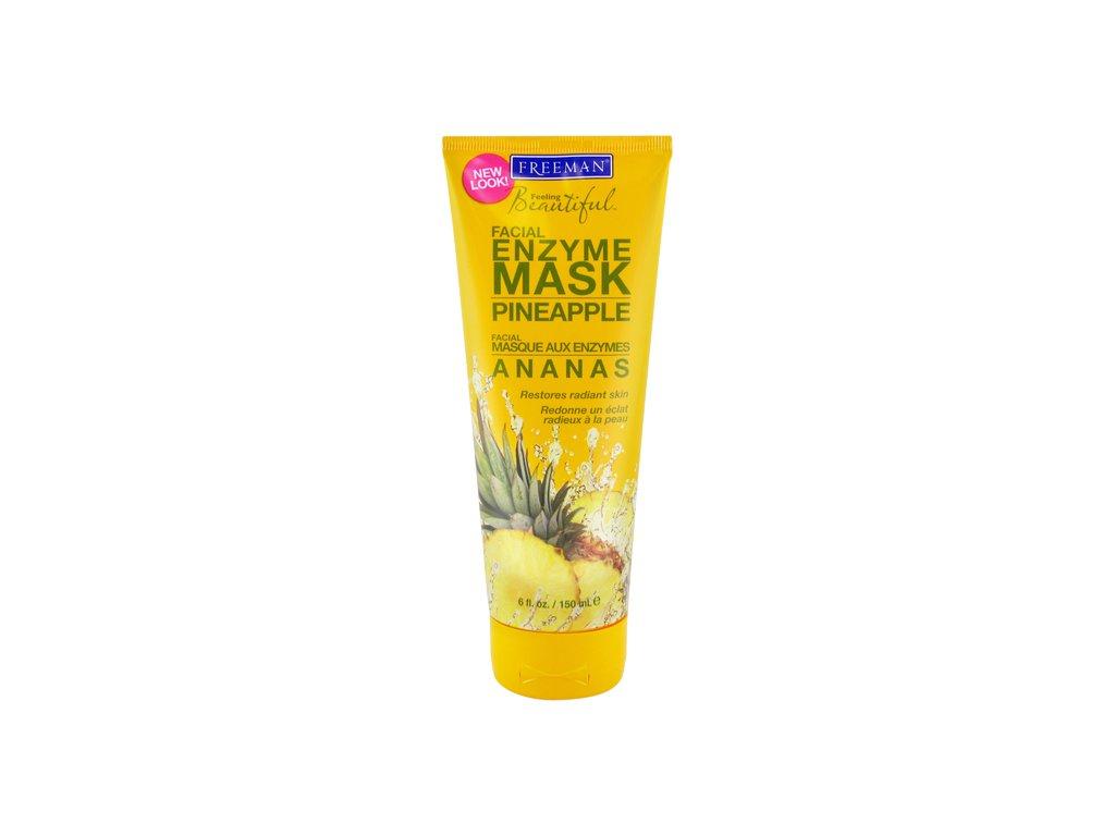FREEMAN enzymová pleťová maska - ananas 150ml