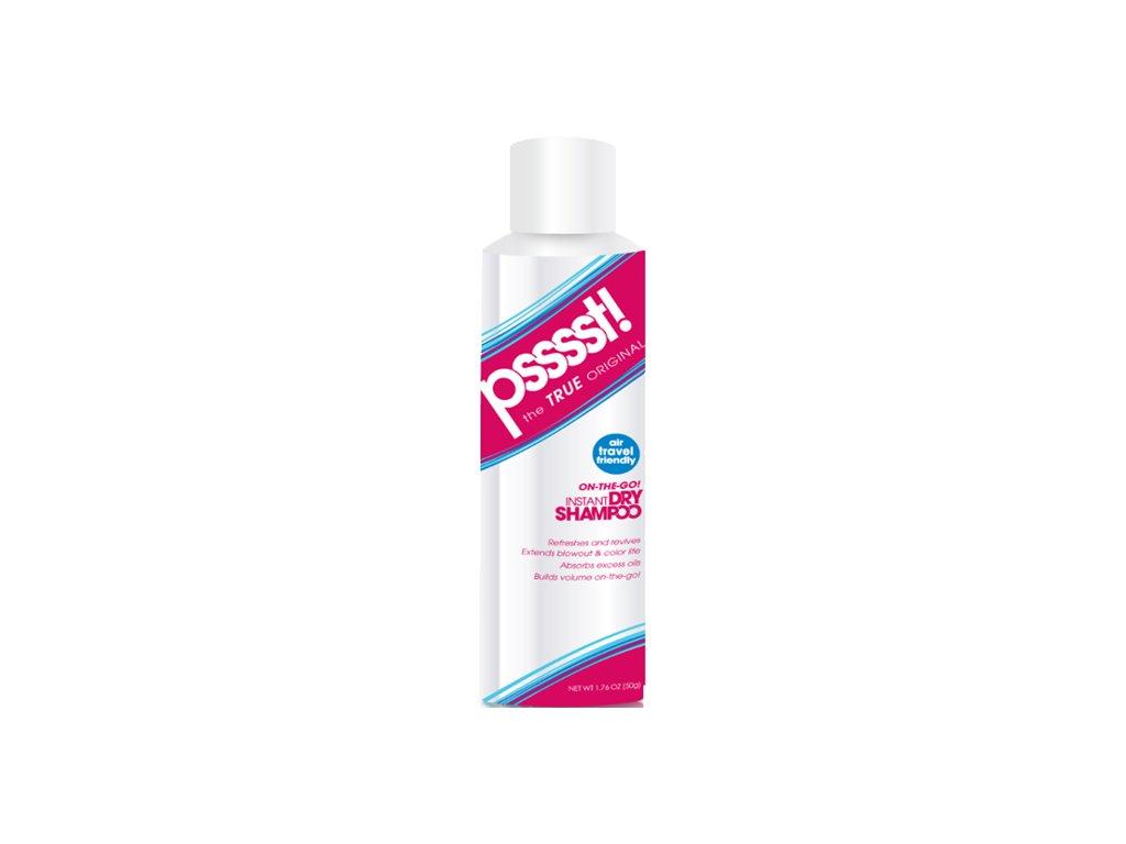 FREEMAN Pssssst suchý šampon ve spreji cestovní 50ml