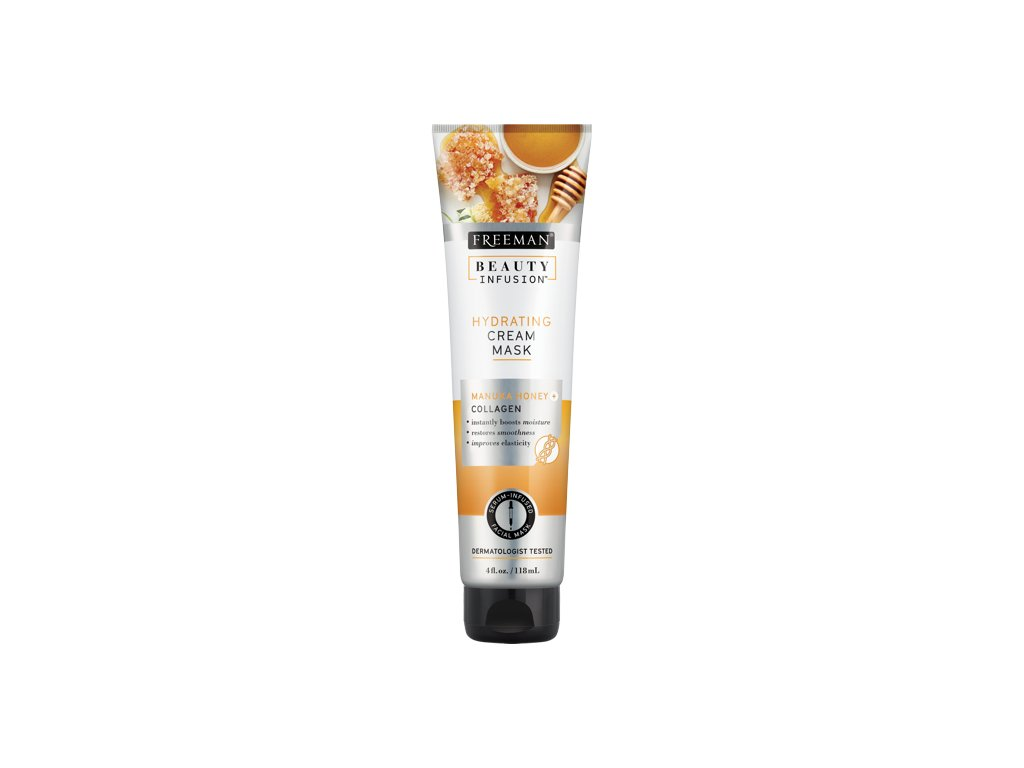 FREEMAN BI Hydratační krémová maska manukový med + kolagen + serum 118ml