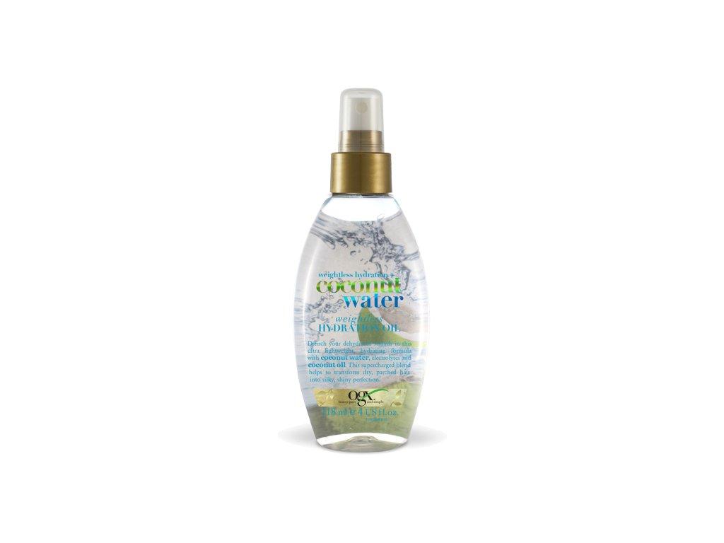 OGX - hydratační olej na vlasy kokosová voda 118ml