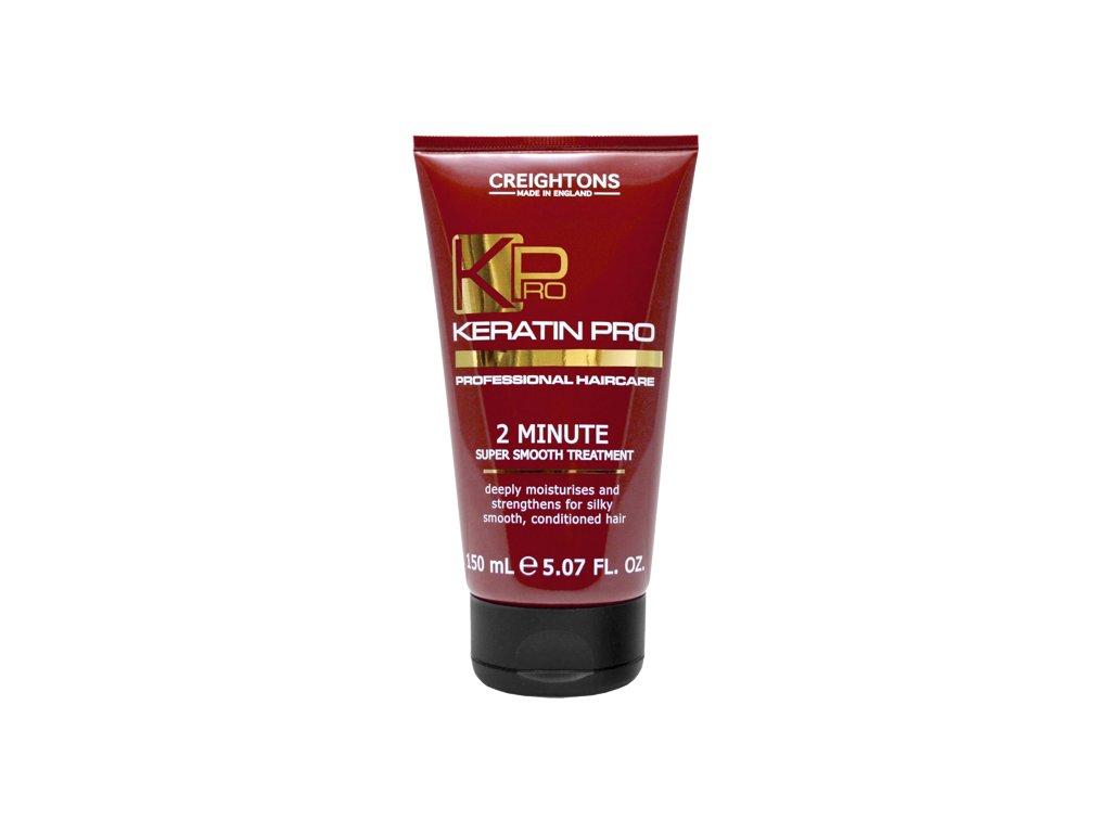 CREIGHTONS Keratin Pro 2 minutová maska na vlasy 150ml