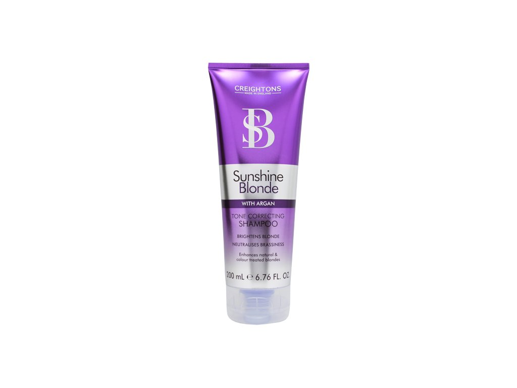 CREIGHTONS Sunshine Blonde Tone Correcting šampon 200ml