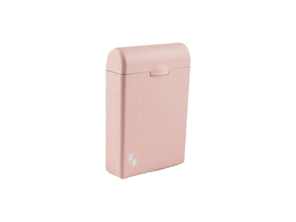 TAMPONBOX - pouzdro na tampony světle růžový