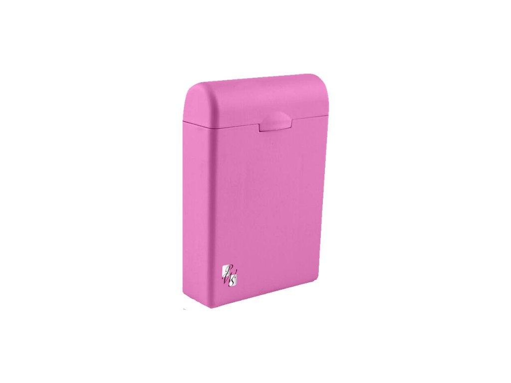 TAMPONBOX - pouzdro na tampony tmavě růžový