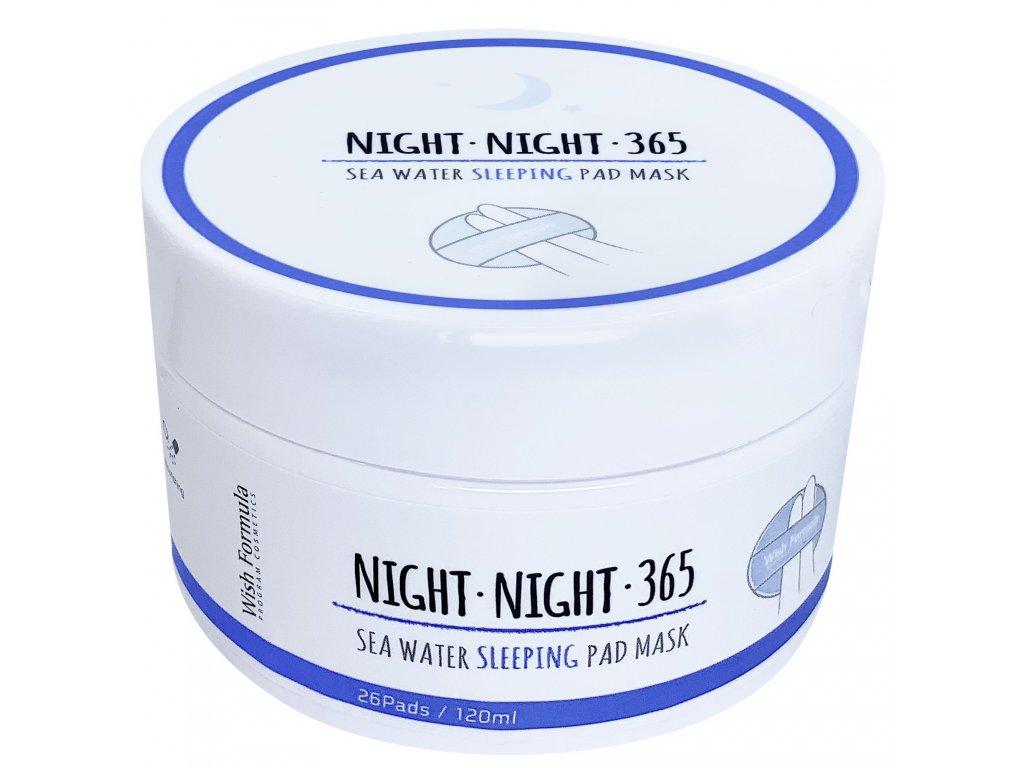 WISH FORMULA noční krém-maska 26 pads 120ml