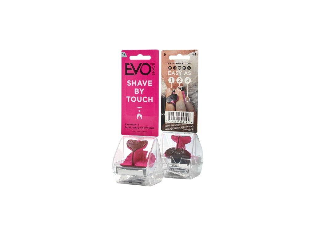 EvoShave - holící systém Hot Pink 1+1 ZDARMA