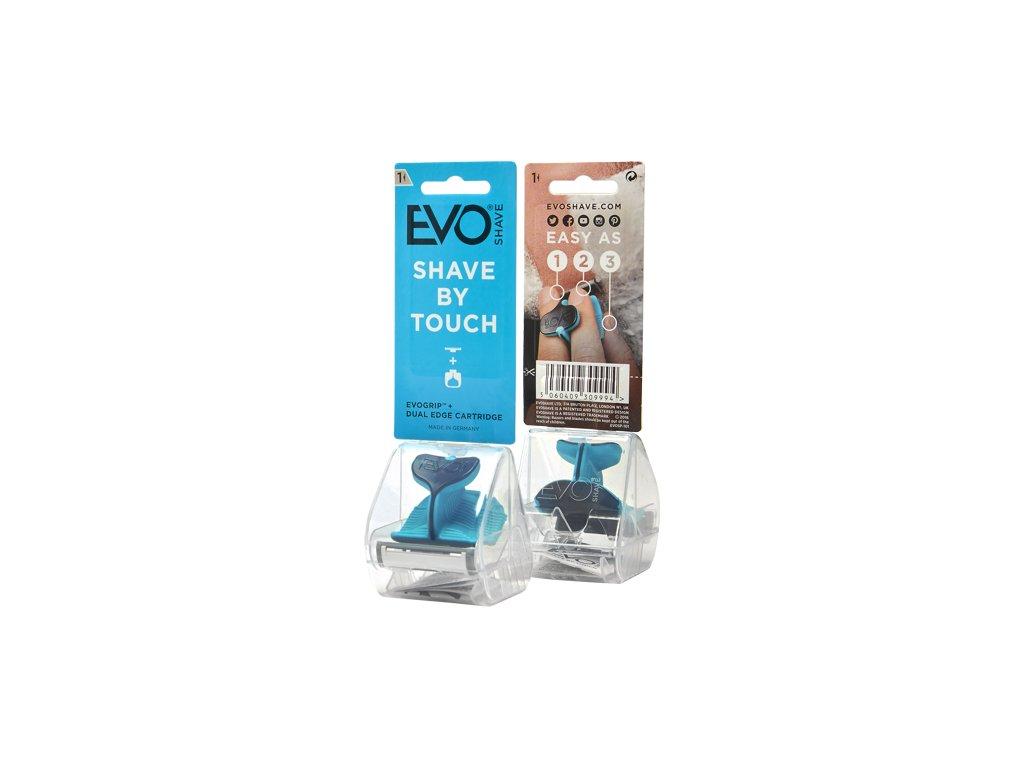 EvoShave - holící systém Aqua Blue 1+1 zdarma