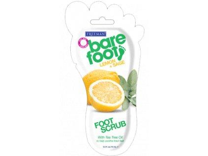 FREEMAN revitalizační peeling na nohy - citron / šalvěj 15ml