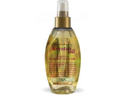 OGX - oživující olej na vlasy proti lámání keratinový olej 118ml