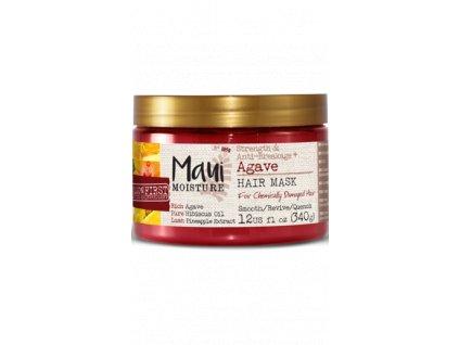 MAUI posilující maska pro chemicky zničené vlasy s Agave 340gr