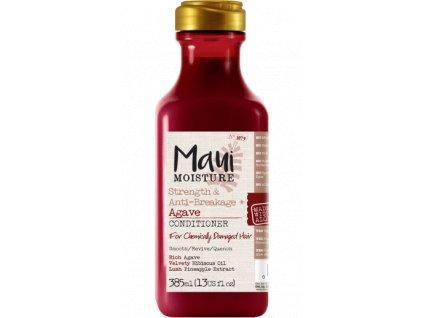 MAUI posilující kondicioner pro chemicky zničené vlasy s Agave 385ml