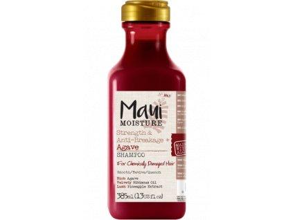 MAUI posilující šampon pro chemicky zničené vlasy s Agave 385ml