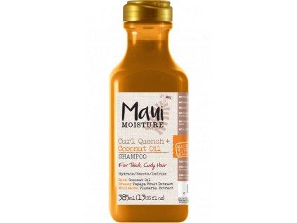 MAUI šampon pro husté kudrnaté vlasy s kokosovým olejem 385ml
