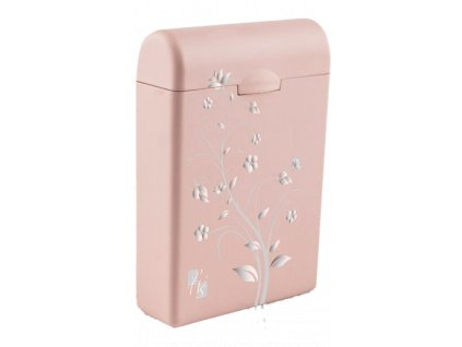TAMPONBOX - pouzdro na tampony světle růžový Flower