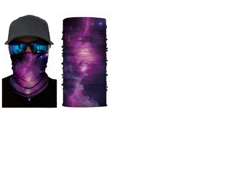 bandana violet ghost