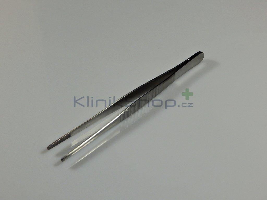 Kovová pinzeta 15 cm
