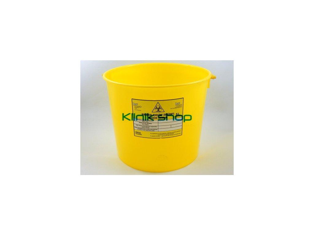 Kontejner na infekční odpad 5 L