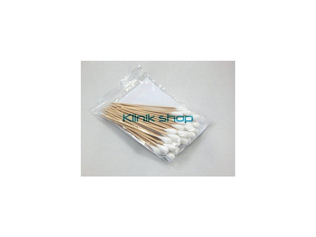 Nesterilní vatové tyčinky, hlavička 11 mm