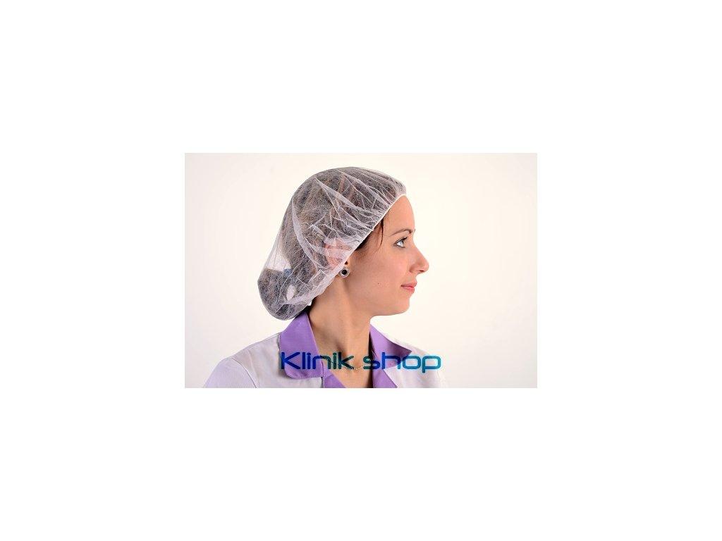 Operační čepice z NT - Bílá