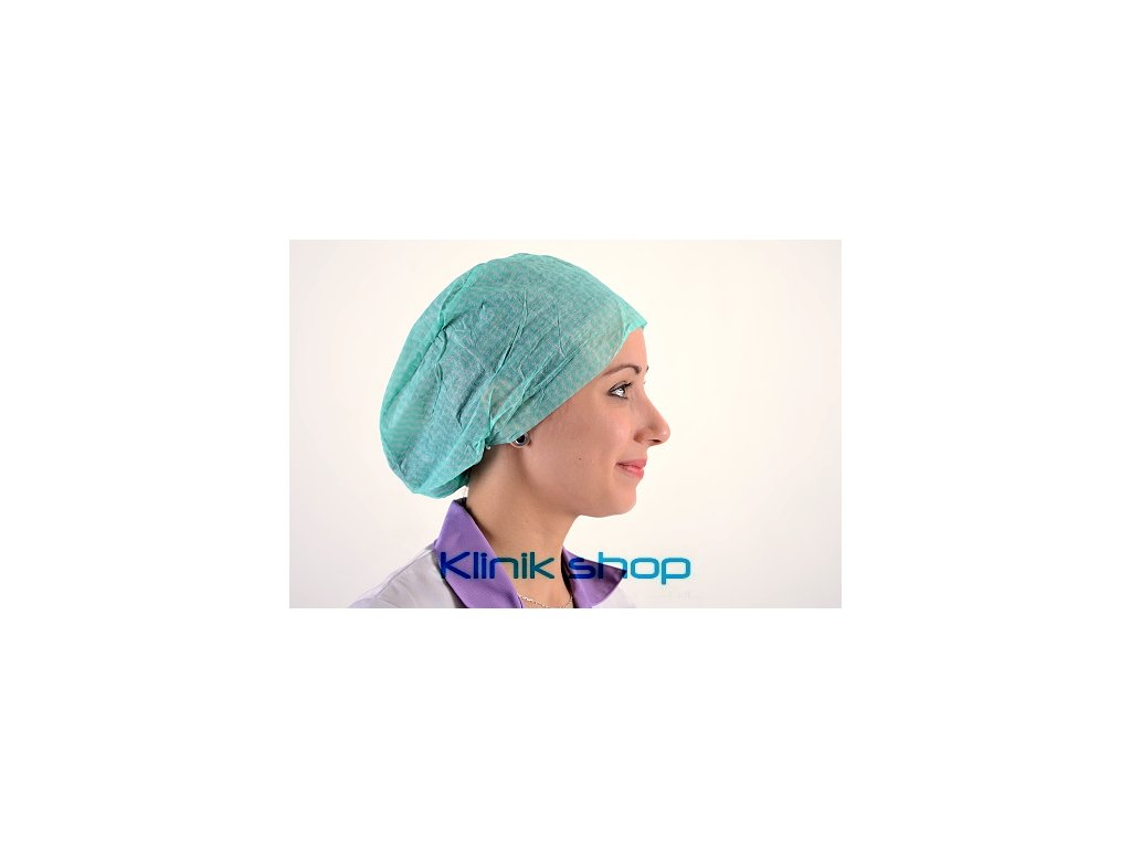 Operační čepice Kosack -Zelená