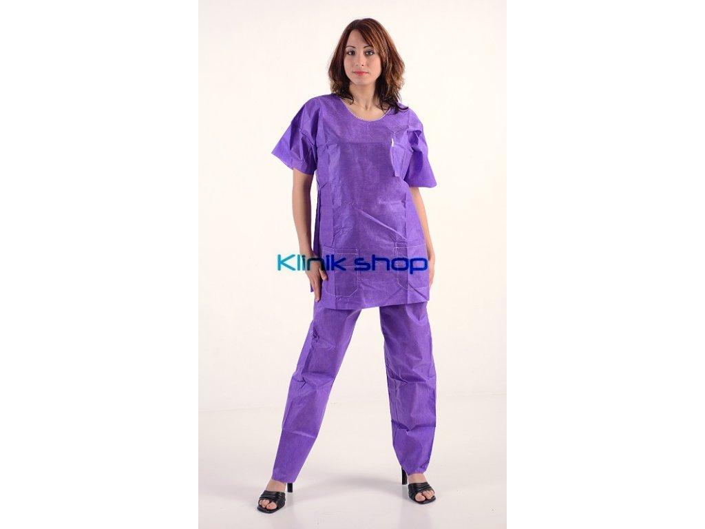Sada operačního oblečení Fialová