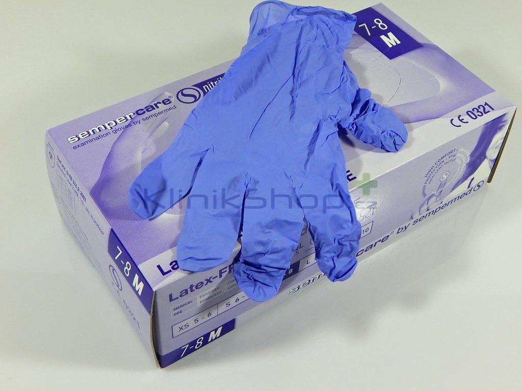 Nitrilové rukavice Sempercare Skin2