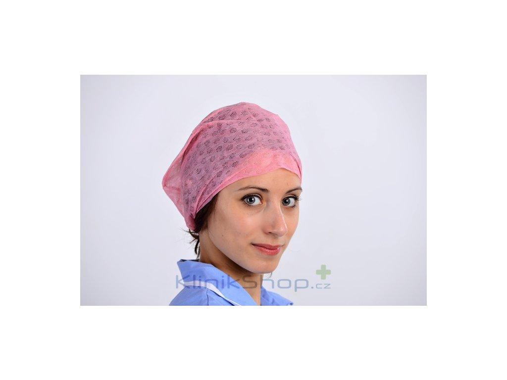 Operační čepice Miss s gumičkou