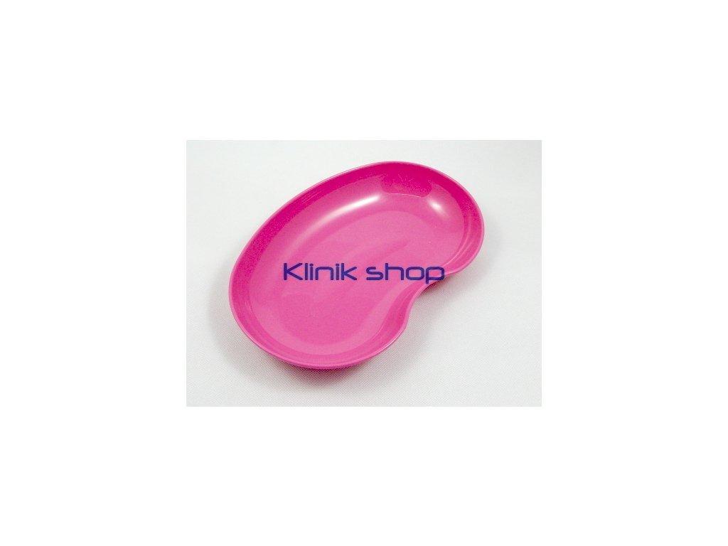 Emitní miska plastová-růžová
